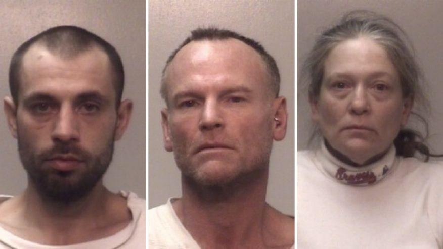 78-year-old points gun at burglars