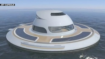 Italian company, Jet Capsule, reveals plans for futuristic houseboat called, 'UFO 2.0'