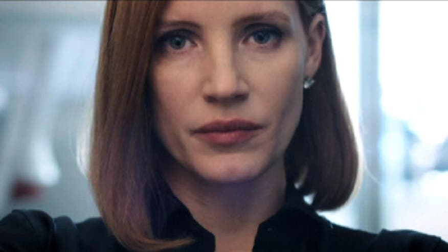 Oscar-nominated actress plays D.C. lobbyist who takes on a powerful opponent in 'Miss Sloane'