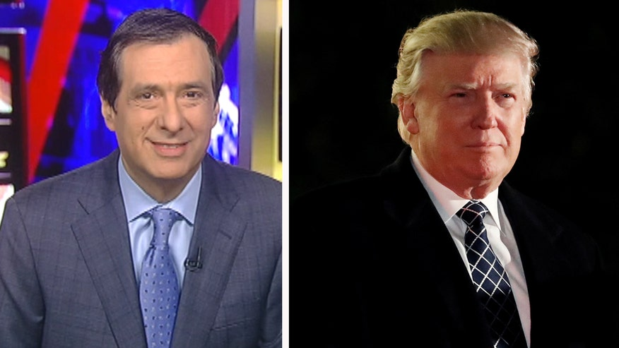 'MediaBuzz' host Howard Kurtz weighs in on the liberal media's 'outrage porn' over every bit of new Donald Trump news