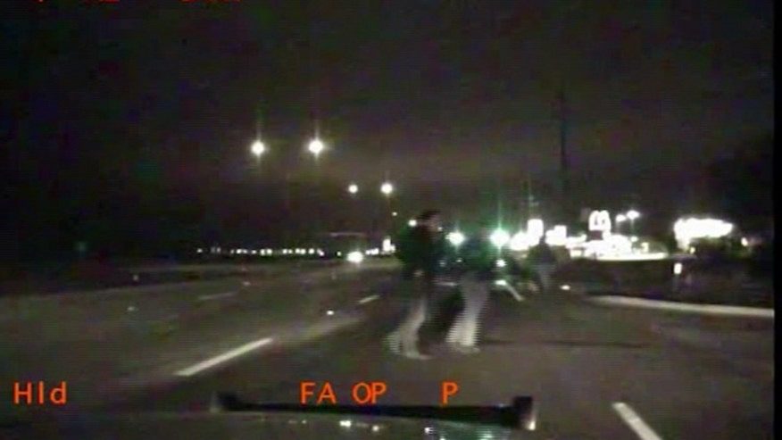 An El Paso police officer is lucky to be alive after being hit
