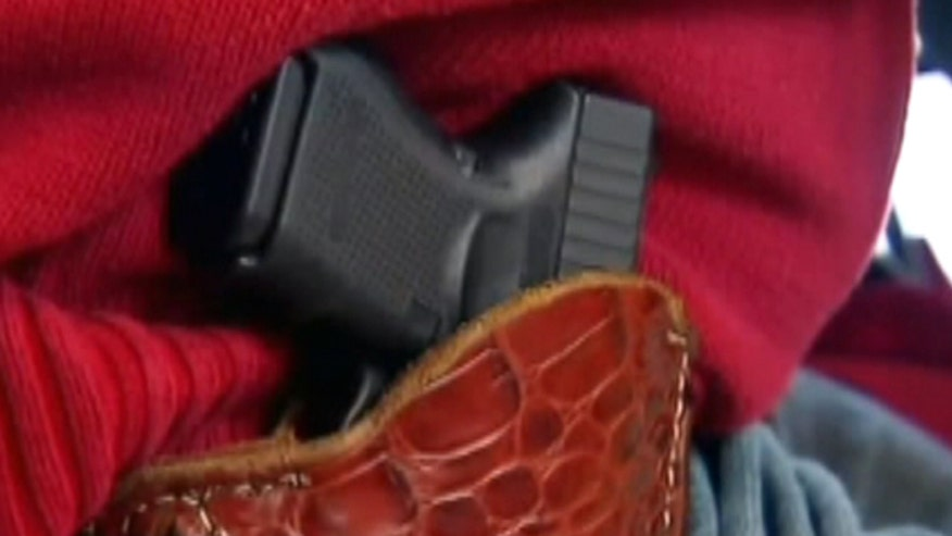 Three Republican Washington state representatives introduce bill that would permit licensed firearms inside sports stadiums. Both NFL and MLB, which field teams in Seattle, institute a no weapons policy