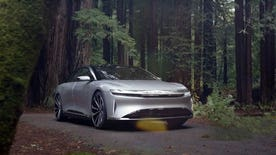 California startup Lucid Motors plans to sell its 1,000 hp electric luxury sedan in 2018.