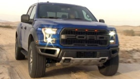 Gary Gastelu heads to Borrego Springs to check out the high performance 2017 Ford F-150 Raptor in the California desert.