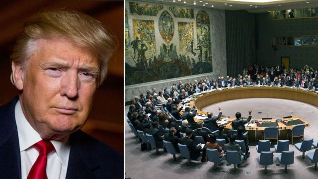Trump picks political fight with the United Nations