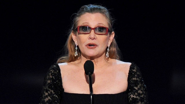 Fans mourn the death of Carrie Fisher