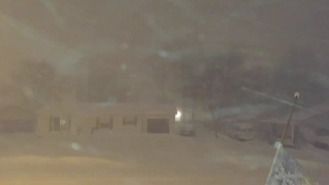 Thundersnow rattles Bismarck residents during blizzard