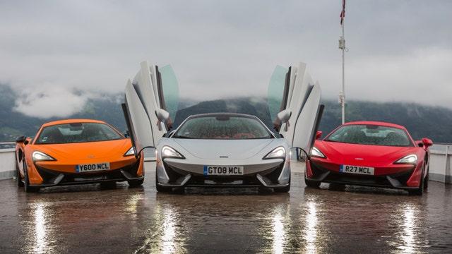 Super sales for McLaren's supercars