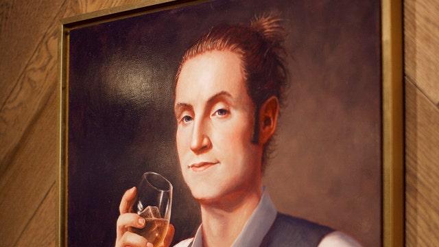 'Hot' George Washington rocks a man bun