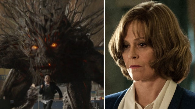 Sigourney Weaver, Liam Neeson mask tragedy with fantasy