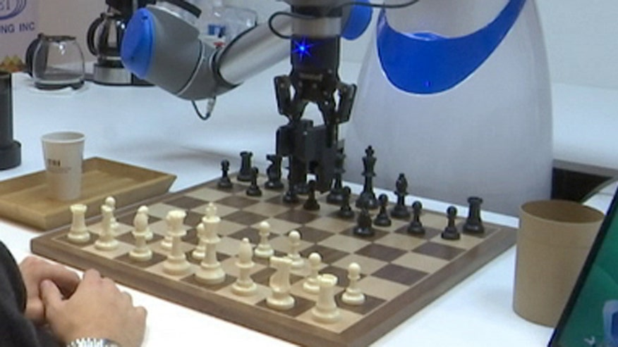 Taiwan based ITRI debuts a chess playing robot and remote controlled drones using new technologies