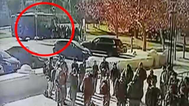 Warning, graphic video: Four soldiers killed in truck attack