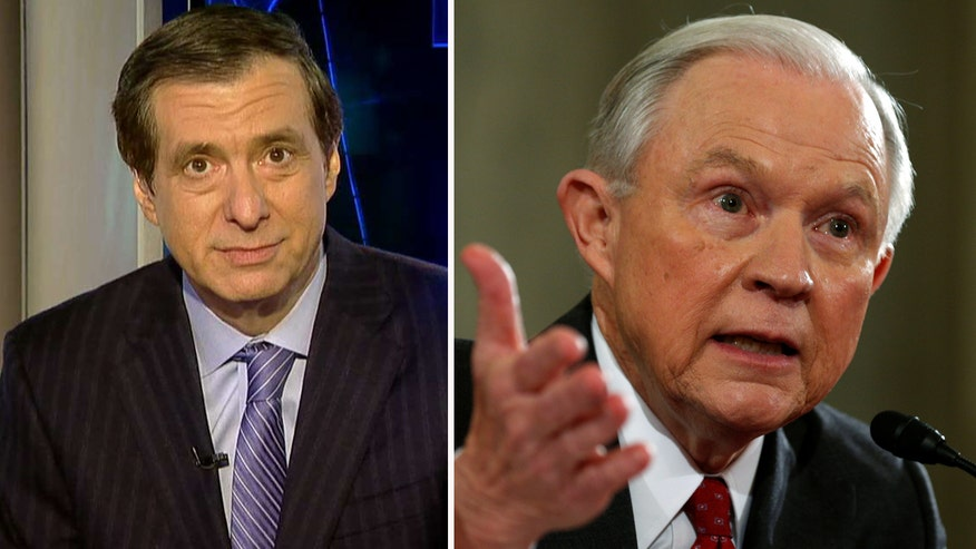 'MediaBuzz' host Howard Kurtz weighs in on Jeff Sessions' leaked opening remarks