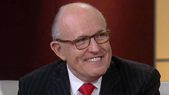 Giuliani forming cybersecurity team for Trump administration