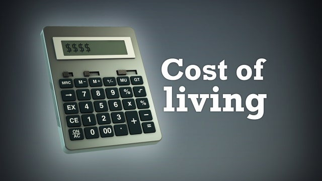 The cost of living is becoming more costly