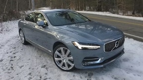 The 2017 Volvo S90 comes with a built-in co-pilot that can help you steer and brake it.