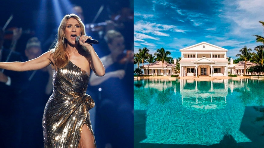 Hot Houses: Check out superstar singer Celine Dion's Florida mansion, Gwen Stefani's Beverly Hills' estate and a stunning castle in Italy