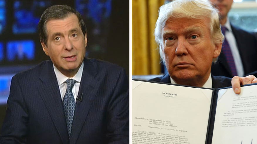 'MediaBuzz' host Howard Kurtz weighs in on the media's attacks on every move President Trump has made since taking office