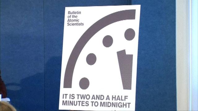 Doomsday Clock ticks closer to midnight