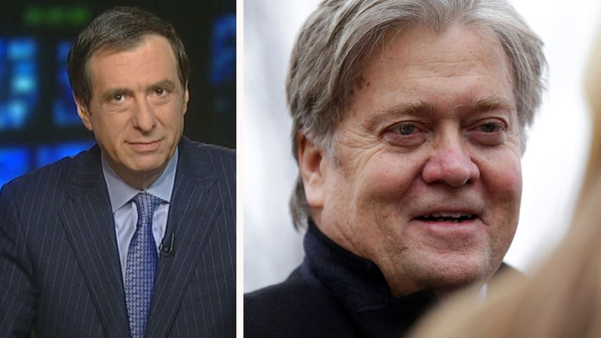 'MediaBuzz' host Howard Kurtz weighs in on the press' response to Steve Bannon calling the media the 'opposition party'