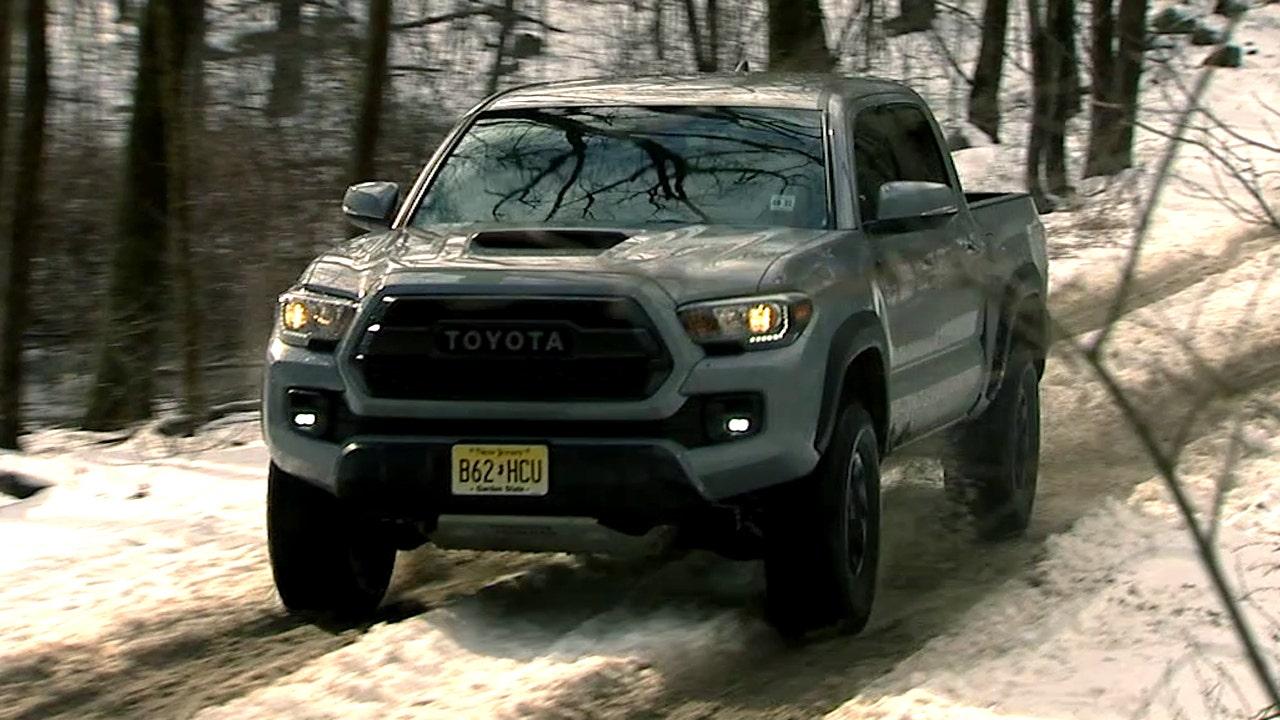 2017 toyota tacoma trd pro test drive fox news - 2017 toyota tacoma exterior colors ...