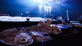 Chef Julian Medina dishes on what it really takes to feed hungry sports fans at the Super Bowl