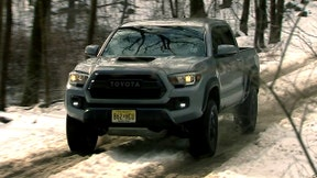 The new 2017 Toyota Tacoma TRD Pro is the highest performance model of the best-selling small pickup in America.
