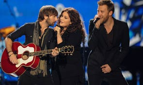 While the country stars didn't break up, they did take time to focus on solo projects