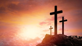 Spirited Debate: N.T. Wright discusses why in his opinion that Jesus' crucifixion was a 'pivotal moment in history'
