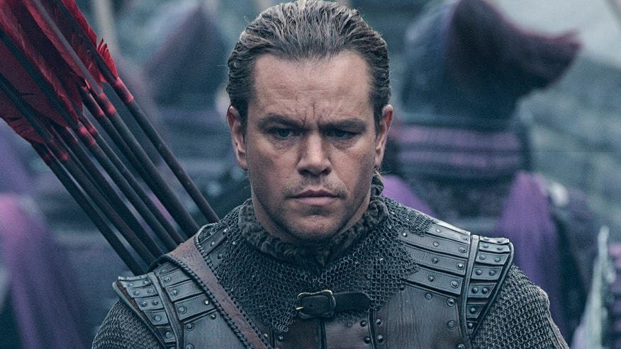 Star plays European mercenary in the fantasy adventure film 'The Great Wall'