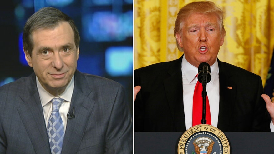 'MediaBuzz' host Howard Kurtz weighs in on Donald Trump lambasting the media during his press conference