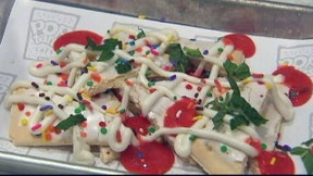 Wild creations at Times Square's pop up Pop Tart cafe