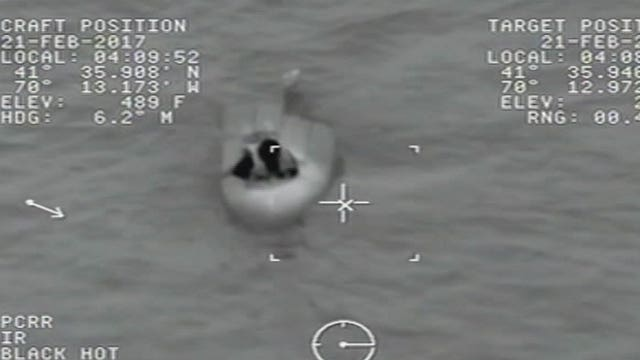 Boater rescued after spending nearly 12 hours in the water