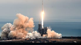 Elon Musk announces SpaceX will fly two paying passengers around the moon in 2018. Moon mission another step toward SpaceX's ultimate goal of establishing permanent Mars colonies