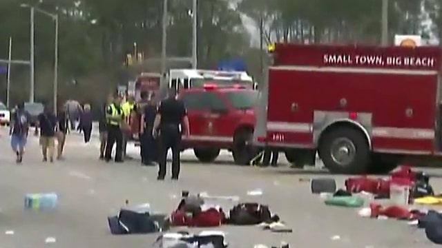 Officials: Mardi Gras crash in Alabama appears accidental