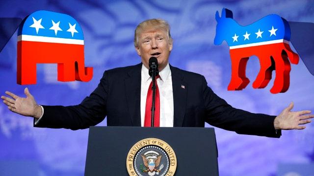 Could President Trump's budget unify Republicans, Democrats?