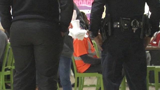 Atlanta airport police struggle to solve homeless problem