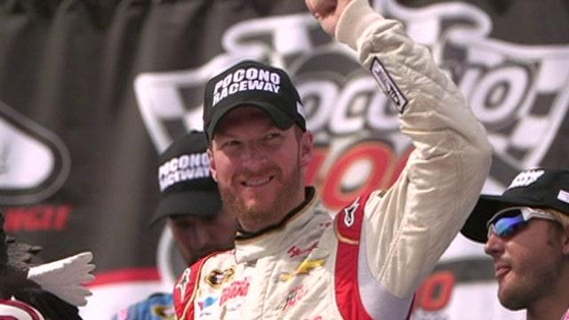 Dale Earnhardt Jr. talks upcoming NASCAR talent