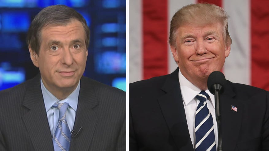 'MediaBuzz' host Howard Kurtz weighs in on both liberal and conservative pundits praising Donald Trump's address to to Congress