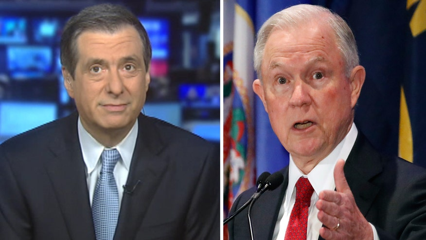'MediaBuzz' host Howard Kurtz weighs in on the controversy over the attorney general's interactions with the Russian ambassador