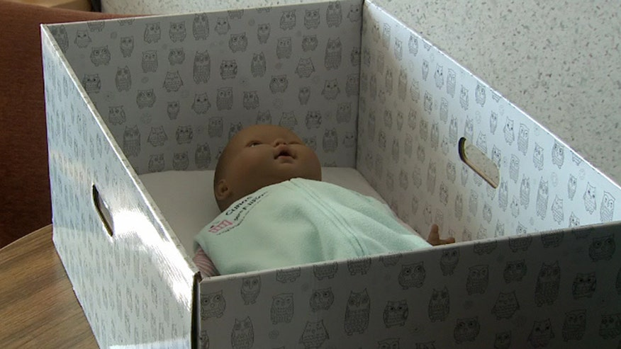 'Baby boxes' have been used successfully to reduce infant mortality rates in Finland for decades