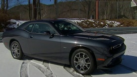 Old man winter may have met his match in  the all-wheel-drive 2017 Dodge Challenger GT.