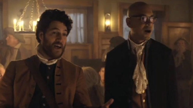 'Making History' stars talk time travel, new comedy
