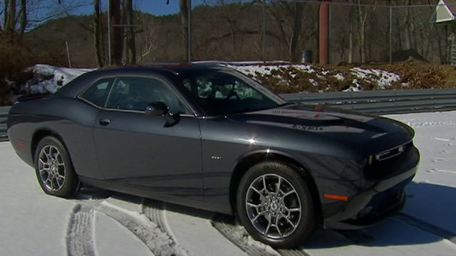 New Dodge Muscle car is a winter wonder