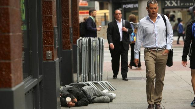 Officials fear San Francisco's homeless hurt tourism
