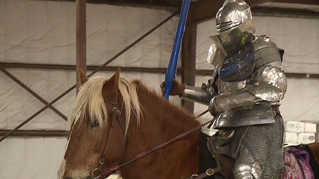 'Knight' gears up for jousting championship