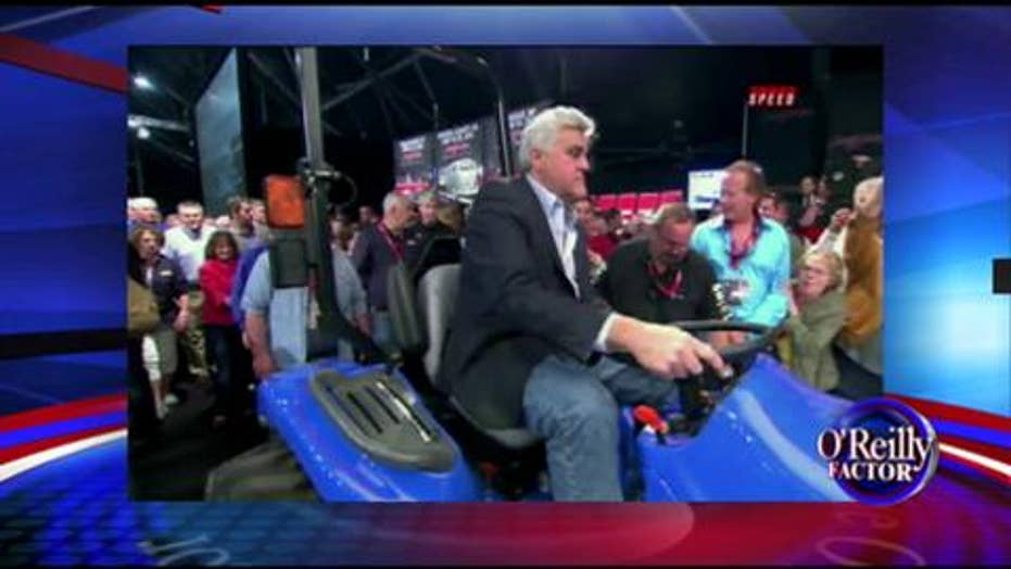 'The Factor' Salutes Jay Leno for charitable action