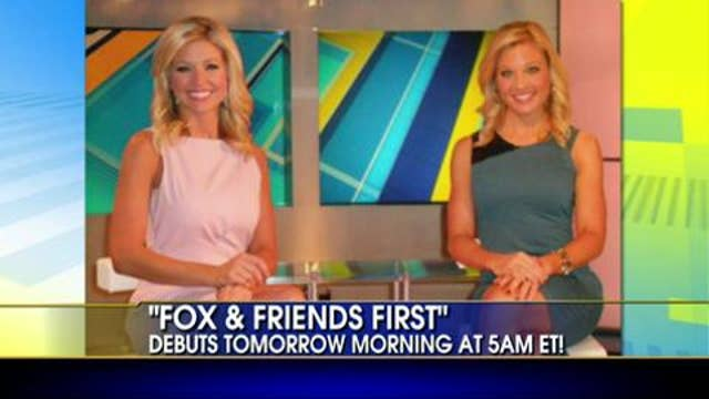 Co-Hosts Ainsley Earhardt and Anna Kooiman Preview Fox and Friends First
