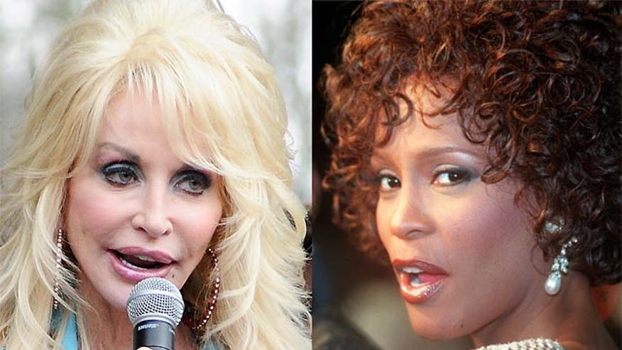 Parton says she broke down when 'I Will Always Love You' played at Whitney's funeral