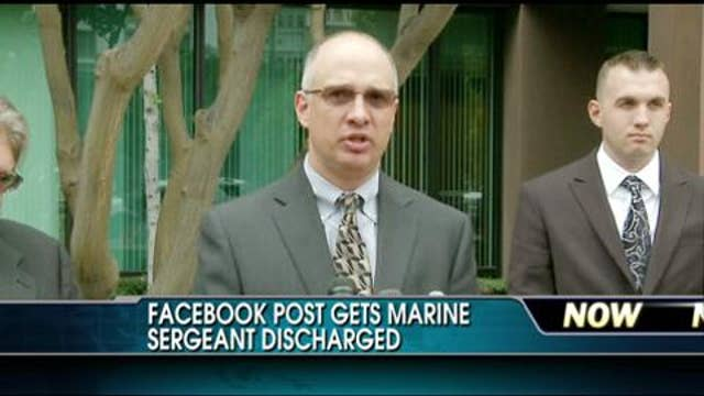 Sgt. Gary Stein Discharged from Marines After Criticizing President Obama on Facebook